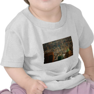 Bunte New- York Citydachspitzen T-Shirts