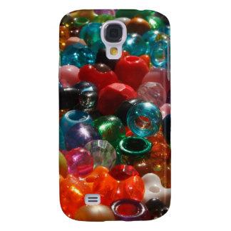 Bunte Perlen Galaxy S4 Hülle