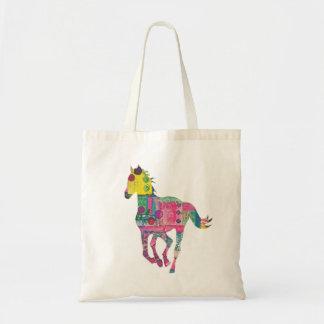 Bunte PferdeTaschen-Tasche Tragetasche