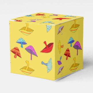 bunte Pilz-Geschenkboxen Geschenkschachtel