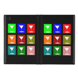 Bunte Retro Cocktailgläser Hülle Fürs iPad Mini