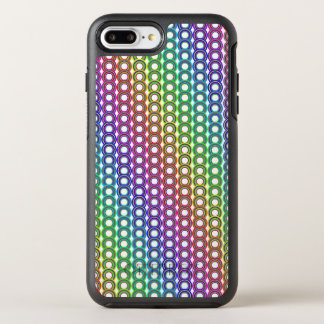 Bunte Retro Kreise OtterBox Symmetry iPhone 8 Plus/7 Plus Hülle