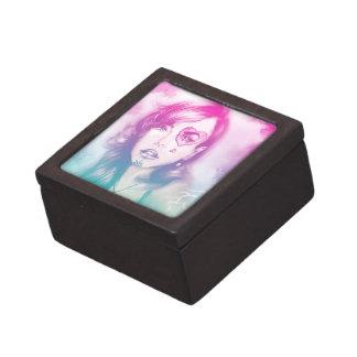 Bunte rosa u. blaue Damen-Geschenkboxen - Schachtel