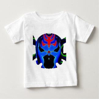 Bunte Schädelgeister Halloween-Sammlung Baby T-shirt