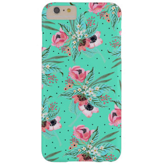 Bunte Sommer-Blumen - aquamariner iPhone Fall Barely There iPhone 6 Plus Hülle
