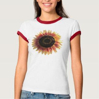 Bunte Sonnenblume T-Shirt