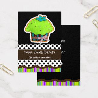 bunte Spaßfilz-Kuchen-Visitenkarten Visitenkarte