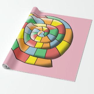 Bunte Spirale Geschenkpapier