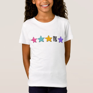 Bunte Starfish T-Shirt