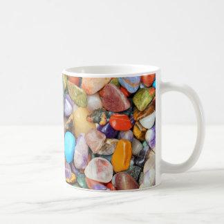 Bunte Steine, Kiesel, Felsen Kaffeetasse