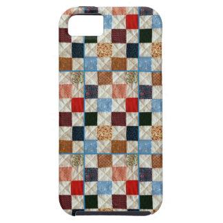 Bunte Steppdecke quadriert Muster Etui Fürs iPhone 5