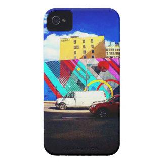 Bunte Straßen-Kunst Case-Mate iPhone 4 Hülle