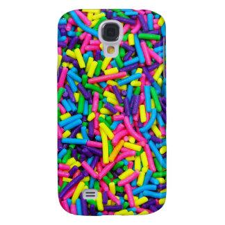 Bunte Süßigkeit besprüht Druck Galaxy S4 Hülle