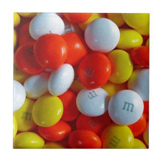 Bunte Süßigkeit Kleine Quadratische Fliese