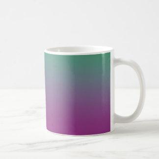 Bunte Tapete auf einer Tasse