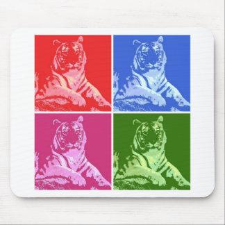 Bunte Tiger Mousepad
