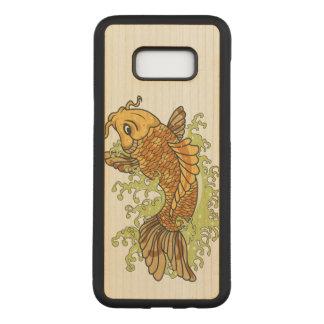 Bunte tropische Fische Carved Samsung Galaxy S8+ Hülle