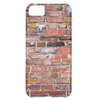 Bunte ungleiche Backsteinmauer iPhone 5C Hülle