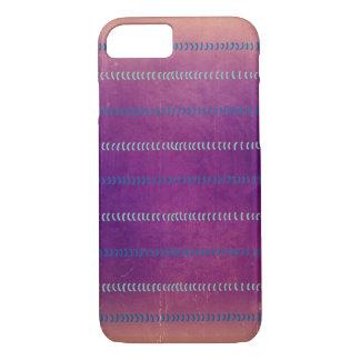 Bunte violette strukturierte Linien Muster-Fall iPhone 8/7 Hülle