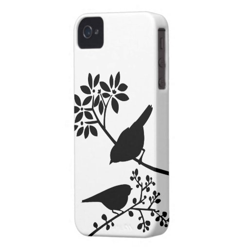 Bunte Vögel kundenspezifischer iPhone Fall iPhone 4 Case-Mate Hülle