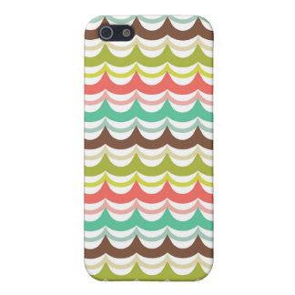 Bunte Welle Stripes Kasten des Muster-iPhone4 iPhone 5 Etui