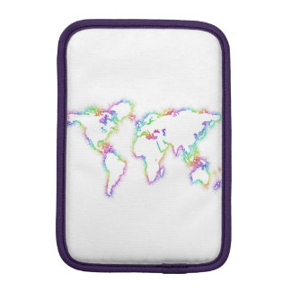Bunte Weltkarte Sleeve Für iPad Mini