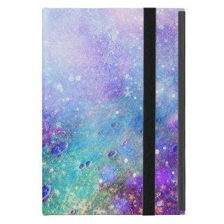 Bunte Weltraum-Aquarelle iPad Mini Etuis