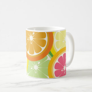 Colorful Citrus Fruit Mug