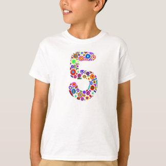 Bunter 5 Geburtstags-T - Shirt