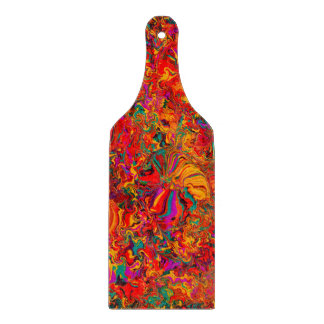 Bunter abstrakter multi Farbhintergrund Schneidebrett