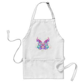 Bunter abstrakter Schmetterling Schürze