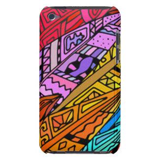 Bunter afrikanischer Entwurf Case-Mate iPod Touch Case