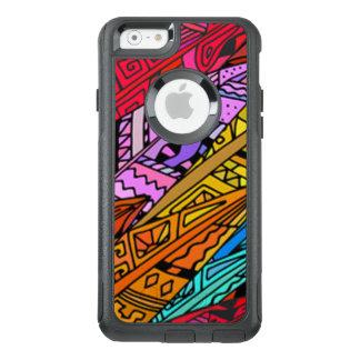 Bunter afrikanischer Entwurf OtterBox iPhone 6/6s Hülle