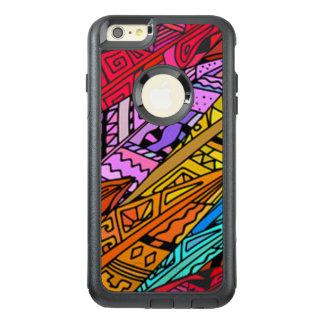 Bunter afrikanischer Entwurf OtterBox iPhone 6/6s Plus Hülle