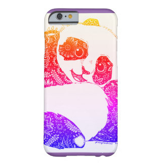 Bunter Baby-Panda Barely There iPhone 6 Hülle