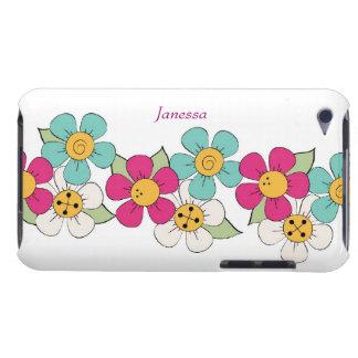 Bunter Blumen-Kettenipod-Touch-Kasten iPod Touch Cover