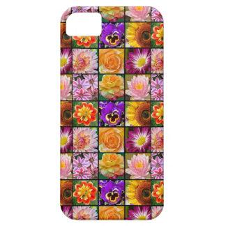Bunter Blumencollagendruck iphone 5 Kasten Hülle Fürs iPhone 5