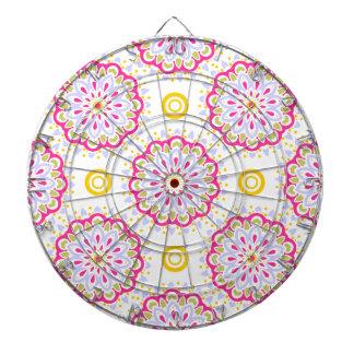 Bunter böhmischer dekorativer Entwurf Dartscheibe