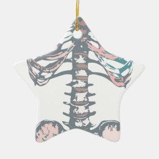Bunter Brustkorb Keramik Ornament