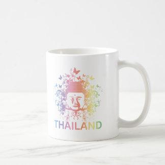 Bunter Buddha Thailand Kaffeetasse