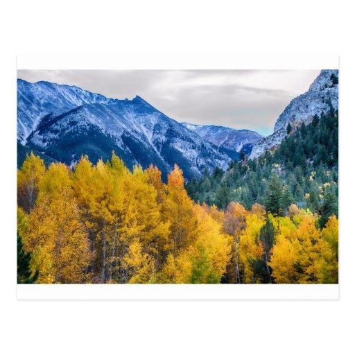 Bunter Butte mit Haube Colorado Postkarte