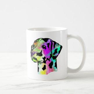 Bunter Dalmatiner Kaffeetasse