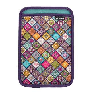 Bunter Diamant deckte Mandalasblumenmuster mit Sleeve Für iPad Mini