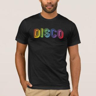Bunter DISCO-Text T-Shirt