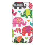 Bunter Elefant scherzt Muster iPhone 6 Fall iPhon Barely There iPhone 6 Hülle
