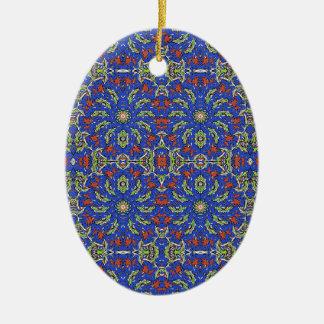 Bunter ethnischer Entwurf Keramik Ornament