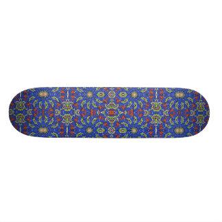 Bunter ethnischer Entwurf Personalisiertes Skatedeck