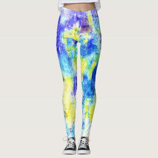 Bunter Farben-Spritzer #11 Leggings