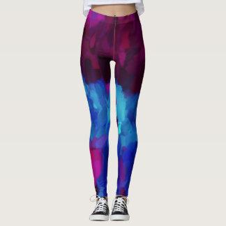 Bunter Farben-Spritzer #18 Leggings