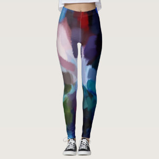 Bunter Farben-Spritzer #19 Leggings